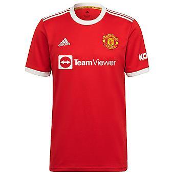 Manchester United Mens Shirt Home Kit 2021/22