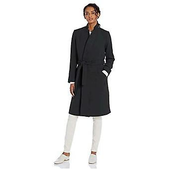 Brand - Daily Ritual Women's Wool Blend Belted Coat