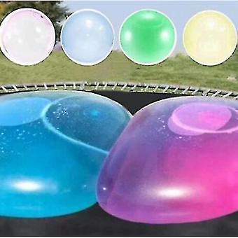 Lohill Kids Child Boys Girls Bubble Ball Legetøj Oppustelige Vand Ball Soft Rubber Ball Jelly Ballon Bolde Til Kids Outdoor Party