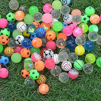 Leikkikenttä pallot hauska kumi pomppiva pallo lelu