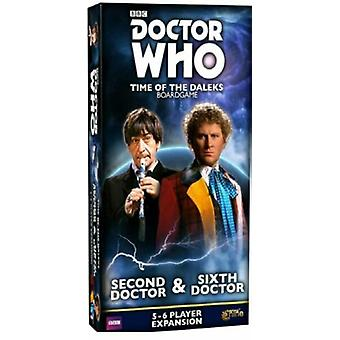 Doctor Who Time of the Daleks Second Doctor and Sixth Doctor Expansion
