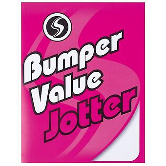 Silvine Bumper Value Plain Notepad (Pack of 6)