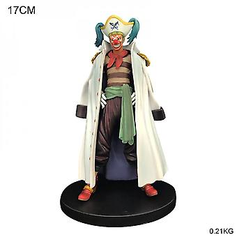 Koolyou One Piece Anime Cartoon Action Doll Pvc Model Doll Children's Toy Christmas Gift-bucky The Clown Character