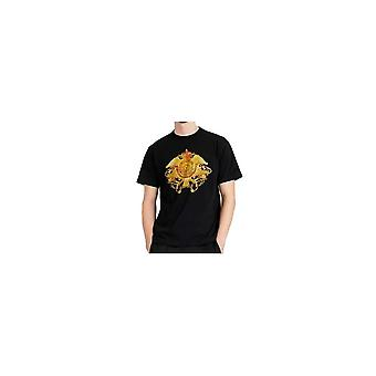 Versace Jeans Couture Jeans Couture Bomull Svart/Guld Studded T-shirt