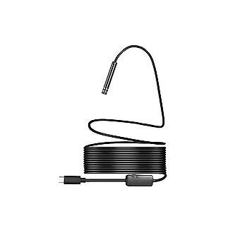 Waterbestendige inspectiecamera 1,3 MP 5 meter Zwart