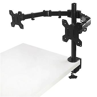 Ms02 Desktop Clamping Full Motion 360 graus Dual Monitor Holder Stand