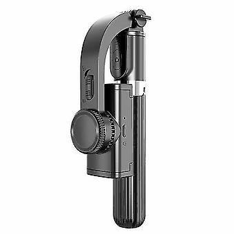 L08 jednoosiowy ręczny stabilizator gimbalowy z bezprzewodowym statywem migawkowym do kamery akcji w smartfonie
