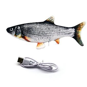1 kpl simulaatio Sähköinen hyppykala verkko punainen kala simulaatio Sähkökala Lemmikkilelu Kalat Pehmolelut Lasten lelut