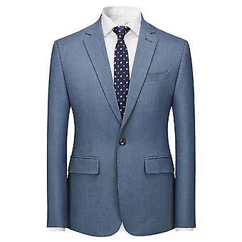 מייל גברים יחיד חזה 1 חתיכה חליפה מחויטת ג'קט התאמה
