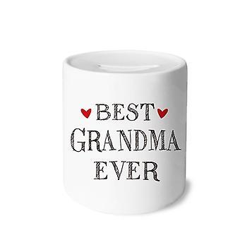 Bestes Oma-Zitat aller Zeiten Druck Keramik Sparschwein