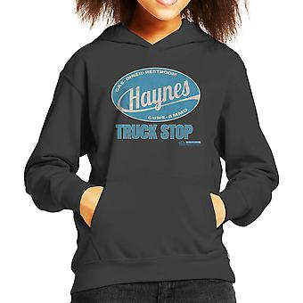 Haynes Brand Truck Stop Kid's Hooded Sweatshirt