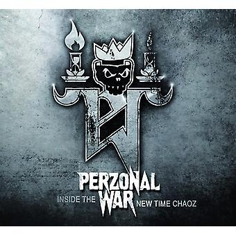Perzonal War - Inside the New Time Chaoz [CD] USA import
