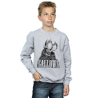 Gallows Boys Black Skull Sweatshirt