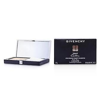 Givenchy Teint Couture Long Wear Compact Foundation & Highlighter Spf10 - # 4 Elegant Beige - 10g/0.35oz
