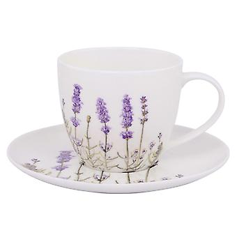 Ashdene I Love Lavender Cup and Saucer