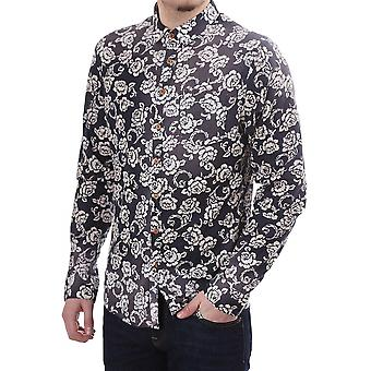 Pearly King Vine Ls Floral Shirt