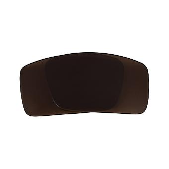 Polarized Replacement Lenses for Oakley Gascan S Sunglasses Brown Anti-Scratch Anti-Glare UV400 by SeekOptics