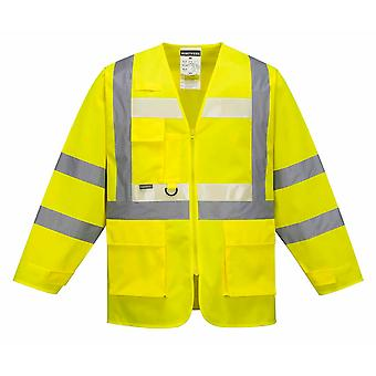Portwest - Glowtex Hi-Vis sikkerhet Workwear Executive jakke