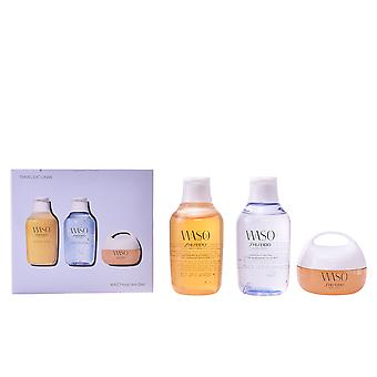 Shiseido Waso clear Mega Idratante Crema Set 3 Pz per le donne