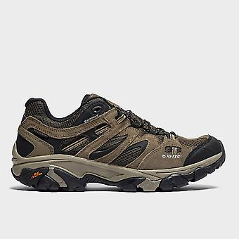 New Hi-Tec Men's Ravus Vent Waterproof Low Hiking Shoes Brown