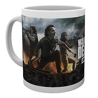 The Walking Dead Fire Mug