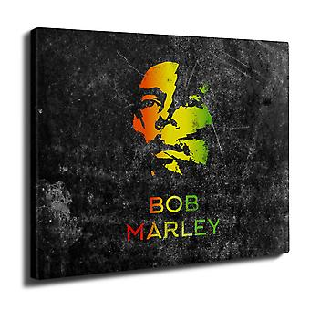 Marley Legend Weed Wall Art Canvas 40cm x 30cm | Wellcoda