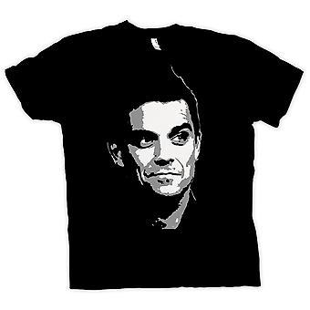Mens t-skjorte - Robbie Williams - Pop Art