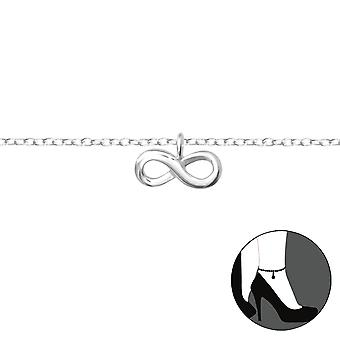 Infinity-925 Sterling Silver anklets-W36046X