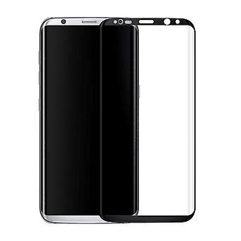 Premium di 0,3 mm piegato vetro temperato nero pellicola per Samsung Galaxy touch 8 N950 F