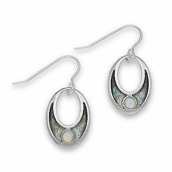Sterling Silver Traditional Contemporary Modern New Dawn Design Pair of Earrings - ESE26