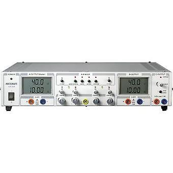 VOLTCRAFT VSP 2410 Bank PSU (instelbare spanning) 0,1-40 V DC 0-10 A 809 W Nee. van uitgangen 3 x