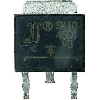 DIOTEC Schottky prostownika SK2045CD2 D²PAK 45 V pojedynczy