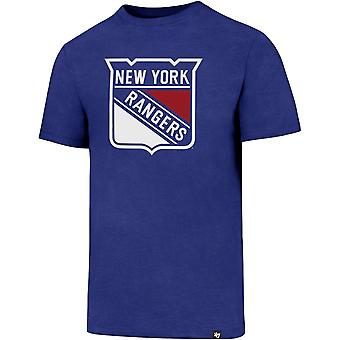 47 ogień CLUB koszula - NHL New York Rangers royal
