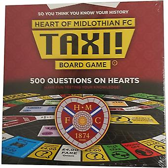 Taxi Board Game Heart of Midlothian by Taxi Game Ltd