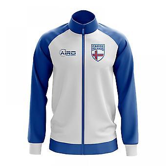 Färsaaret käsite jalkapallo Track Jacket (valkoinen)