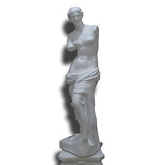 Venus in white, 48x13x12 cm in white