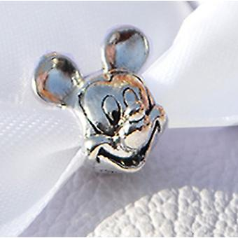 Mickey Mouse Head Shoe Charm