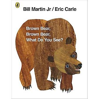 Brown Bear - Brown Bear - What Do You See? by Eric Carle - Bill Marti