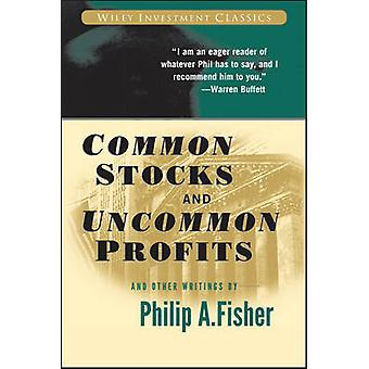 الأسهم العادية والأرباح غير المألوف وكتابات أخرى بفيليب أ وأي فأي