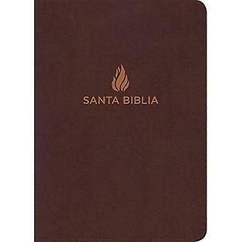 Rvr 1960 Biblia Letra Gigante Marr n, Piel Fabricada Con ndice