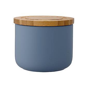 Ladelle Stak weichen Matten altrosa blaue Kanister, 9cm