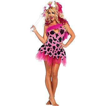 Vilde Girl Adult kostym