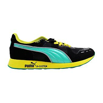 Uomo Puma RS100 Sheen HL Nero/Teal-verde 356616 01
