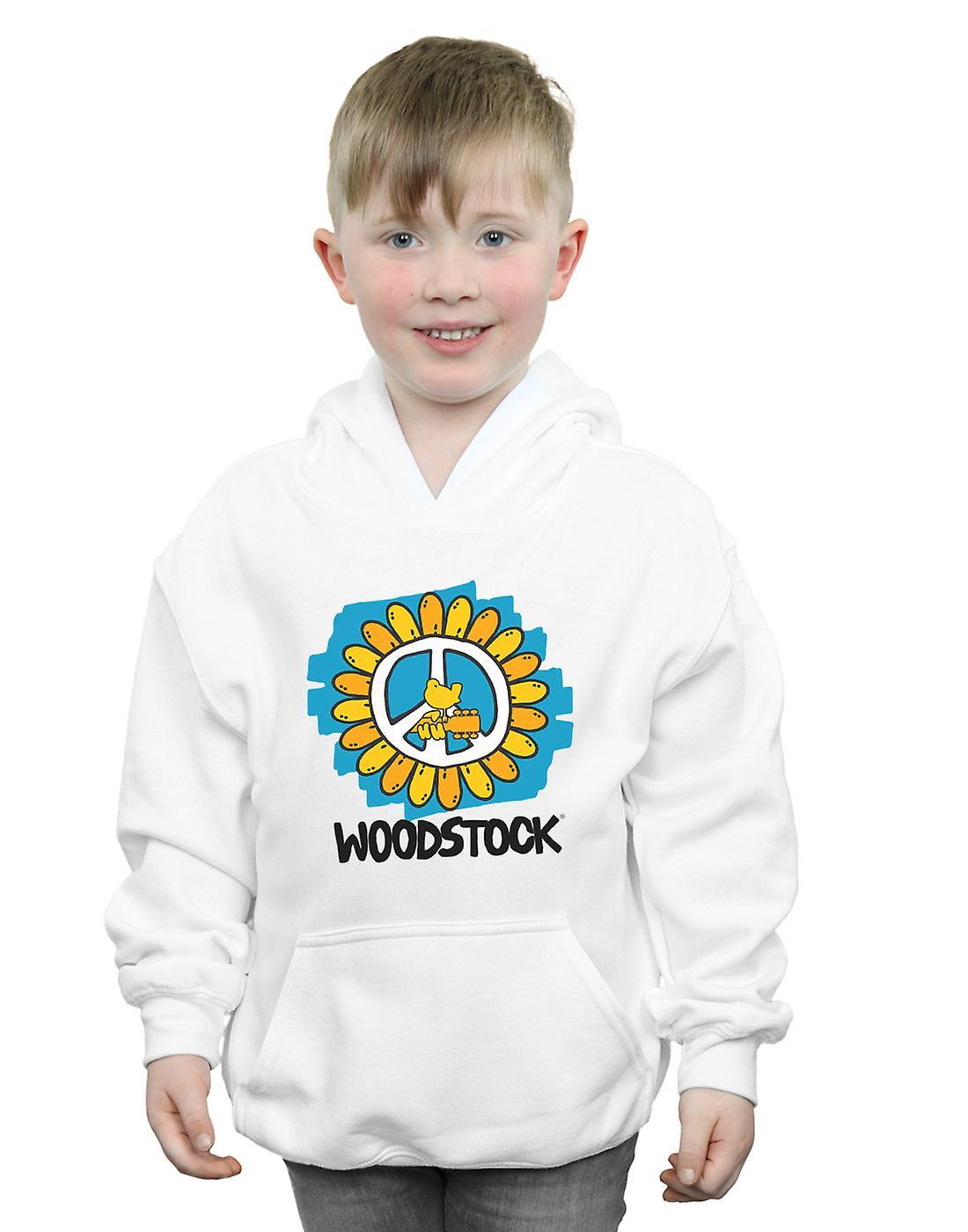 Woodstock Boys Flower Peace Hoodie