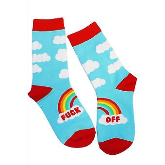 Extreme Largeness F*ck Off Rainbow Socks