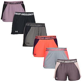 Under Armour Womens nya spela upp 2,0 shorts