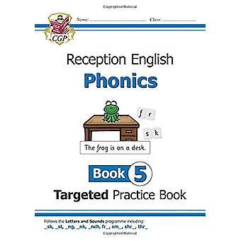 New English Targeted Practice Book - Phonics - Reception Book 5 by New