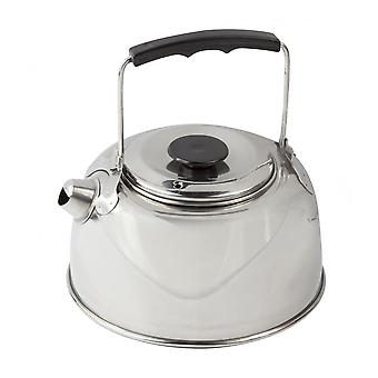 Regatta Camping 1 Litre Stainless Steel Kettle - Silver