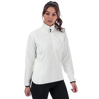 Womens Helly Hansen Feather Pile 3/4 Zip Fleece In Off White