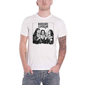 Hardcore Superstar T shirt Yckmrmr album band logo nieuwe officiële mens wit